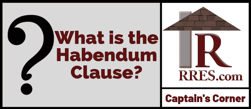 RRES.com What is the Habendum Clause_