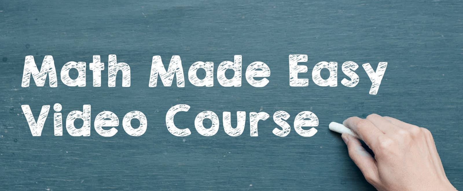 Math made easy video course