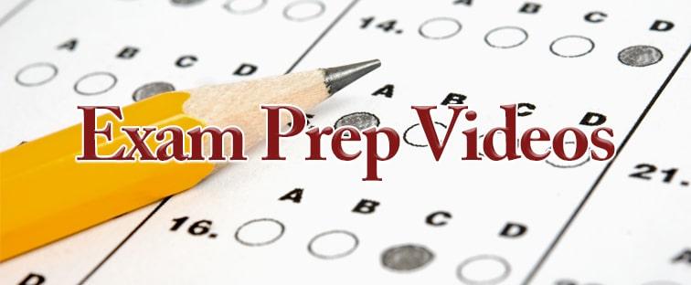 State Exam Prep Videos