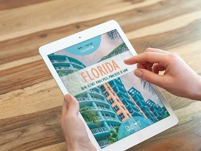 Real Estate eBook on an iPad