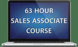 63 Hour Sales Associate Course