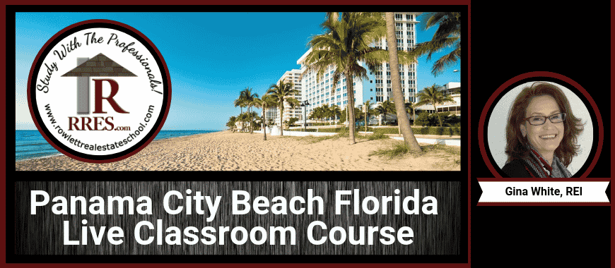 RRES.com Panama City Beach Florida Live Classroom Course
