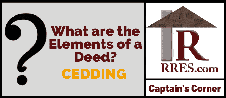 RRES.com What are the Elements of a Deed_