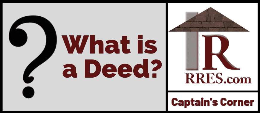 RRES.com What is a Deed_